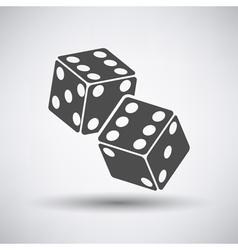 Craps Cubes Icon vector image vector image