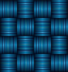 stripe weave vector image
