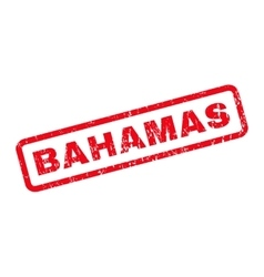 Bahamas Rubber Stamp vector image vector image