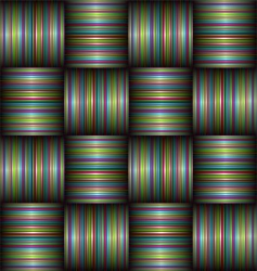 Candy stripe weave vector
