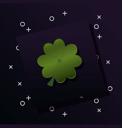 clover icon image vector image