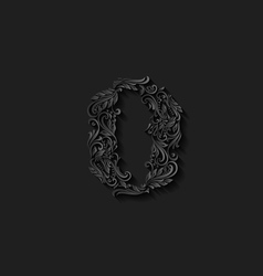 Decorated zero digit vector