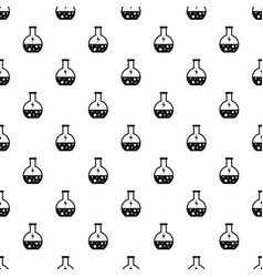 Energy solution flask pattern seamless vector