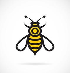 Image bee design vector