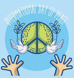 International day of peace vector