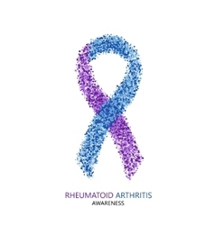 Modern rheumatoid arthritis awareness vector