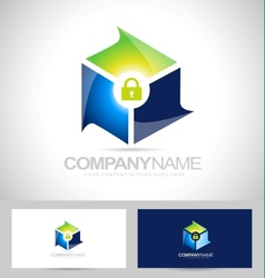 Secure Security Design vector image