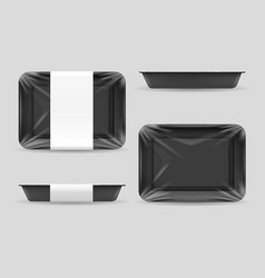styrofoam food storage vector image