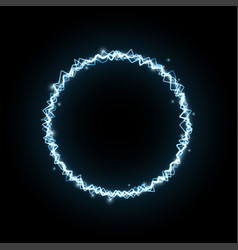 abstract background in form circle vector image