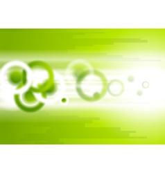 Bright abstract tech motion design vector