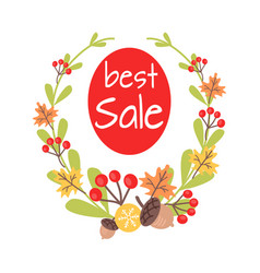 Christmas best sale icon surrounded by wreath vector