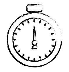 chronometer device isolated icon vector image