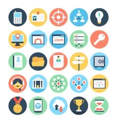 Digital Marketing Icons 5 vector