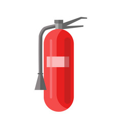 fire extinguisher portable device that discharges vector image