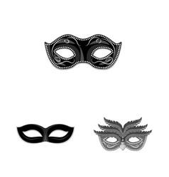 Isolated object venezia and festival icon set vector