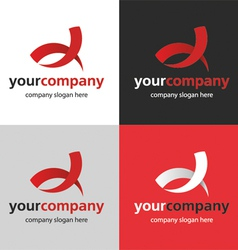 Logo bend vector