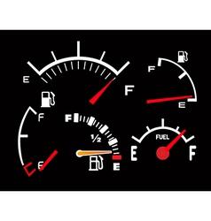 Petrol tank vector image