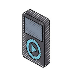 Reproductor music vector