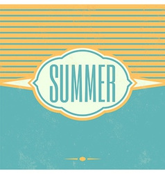 Retro Summer Vintage Background vector
