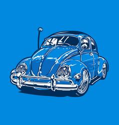 vintage car 10 vector image