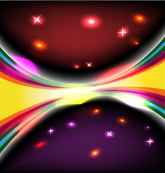 dark glow background vector image