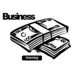 money vector image