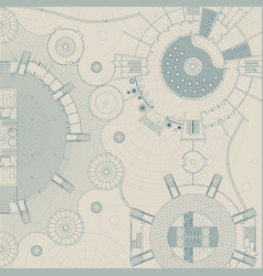 Architectural and engineering background vector