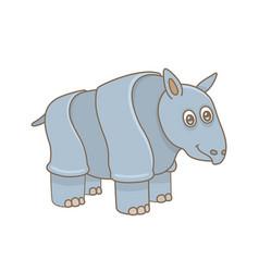 barhinoceros vector image