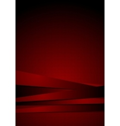 Dark red graphic background with stripes vector