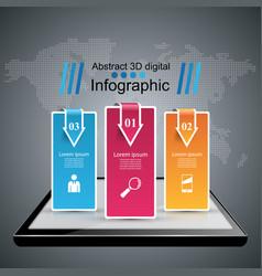 digital gadget smartphone tablet icon business vector image