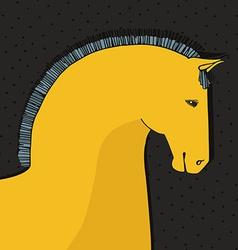 Horse Card vector