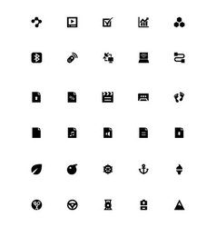 Mini icons 32 vector