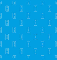 pack of two tablets pattern seamless blue vector image