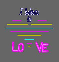 text love with heart love heart text for vector image