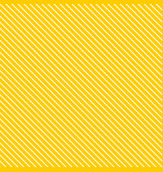 Tile yellow and white stripes summer pattern vector