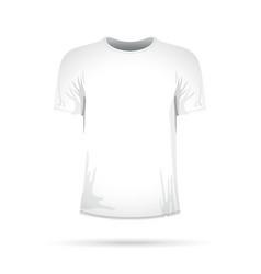 A white t-shirt vector