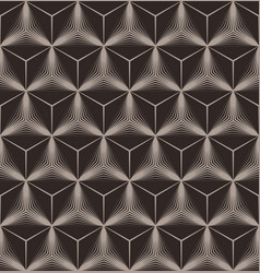 abstract seamless diamond pattern vector image vector image