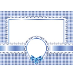 children frame horizontal vector image vector image