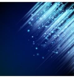 Shiny blue background EPS 10 vector image
