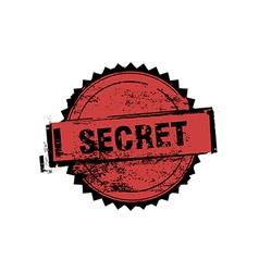 Secret stamp badges vector image vector image