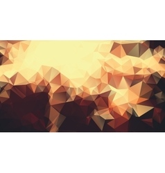 Abstract golden yellow background consisting of vector image