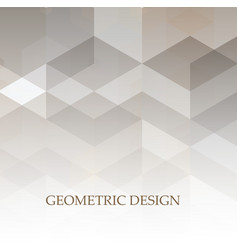 abstract grey and white tech geometric corporate vector image