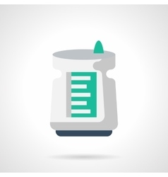 Air cleaner flat color icon vector