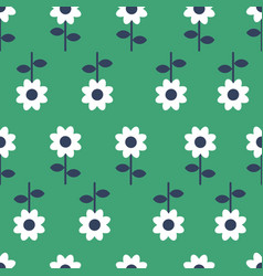 folk art seamless pattern background vector image