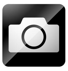 icons with photo camera camera symbol vector image