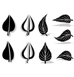 Leaf Symbol 01 vector image