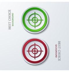 modern circle icons vector image
