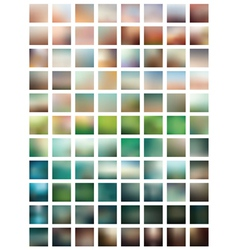 professional set blurred background vector image vector image