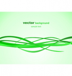 illustration of abstract green background vector image