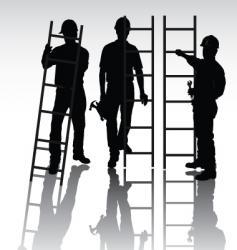 workers set vector image vector image
